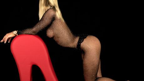 Corina sexy Blondine